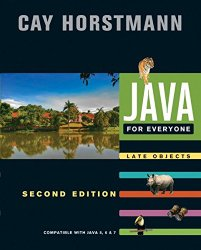 Java For Everyone: Late Objects