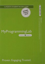 MyProgrammingLab with Pearson eText — Access Card — for Intro to Java Programming, Comprehensive Version, 10/e