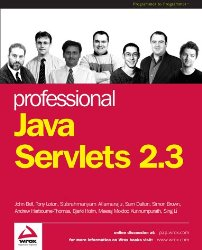 Professional Java Servlets 2.3