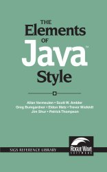 The Elements of Java(TM) Style (SIGS Reference Library)