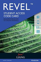 REVEL for Liang Java —  Access Card (10th Edition)