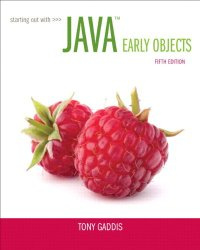 Starting Out with Java: Early Objects plus MyProgrammingLab with Pearson eText — Access Card Package (5th Edition)