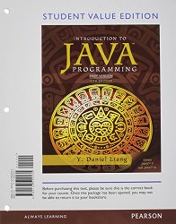 Student Value Edition for Introduction to Java Programming, Brief Version plus MyProgrammingLab with Pearson eText — Access Card Package (10th Edition)