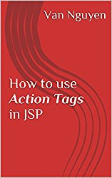 How to use Action Tags in JSP