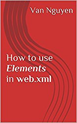 How to use Elements in web.xml