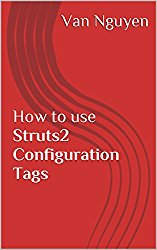 How to use Struts2 Configuration Tags