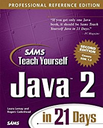 Sams Teach Yourself Java 2 in 21 Days, Professional Reference Edition (2nd Edition)
