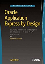 Oracle Application Express by Design