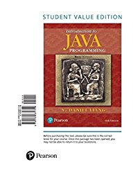 Introduction to Java Programming, Brief Version, Student Value Edition (11th Edition)