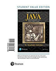 Introduction to Java Programming and Data Structures, Comprehensive Version, Student Value Edition (11th Edition)