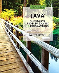 Java: An Introduction to Problem Solving and Programming Plus MyProgrammingLab with Pearson eText — Access Card Package (8th Edition)