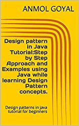 Design pattern in Java Tutorial:Step by Step Approach and Examples using Java while learning Design Pattern concepts.: Design patterns in java tutorial for beginners