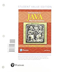 Introduction to Java Programming, Brief Version, Student Value Edition Plus MyProgrammingLab with Pearson eText – Access Card Package (11th Edition)