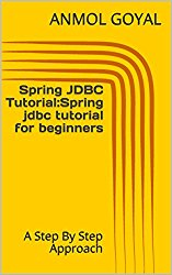 Spring JDBC Tutorial:Spring jdbc tutorial for beginners: A Step By Step Approach