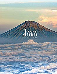 Java Journal: 110 Numbered Graph Pages | Notebook | Large Format 8.5″ x 11″